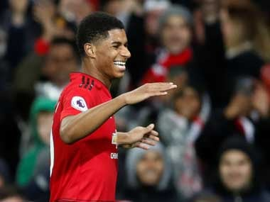 Marcus Rashford was in fine form, bagging a goal and two assists. Reuters