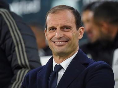 Soccer Football - Serie A - Juventus v Inter Milan - Allianz Stadium, Turin, Italy - December 7, 2018 Juventus coach Massimiliano Allegri REUTERS/Massimo Pinca - RC1617494F30