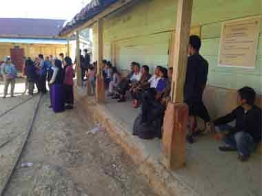 Disciplined voters of Mizoram. Image courtesy @SpokespersonECI