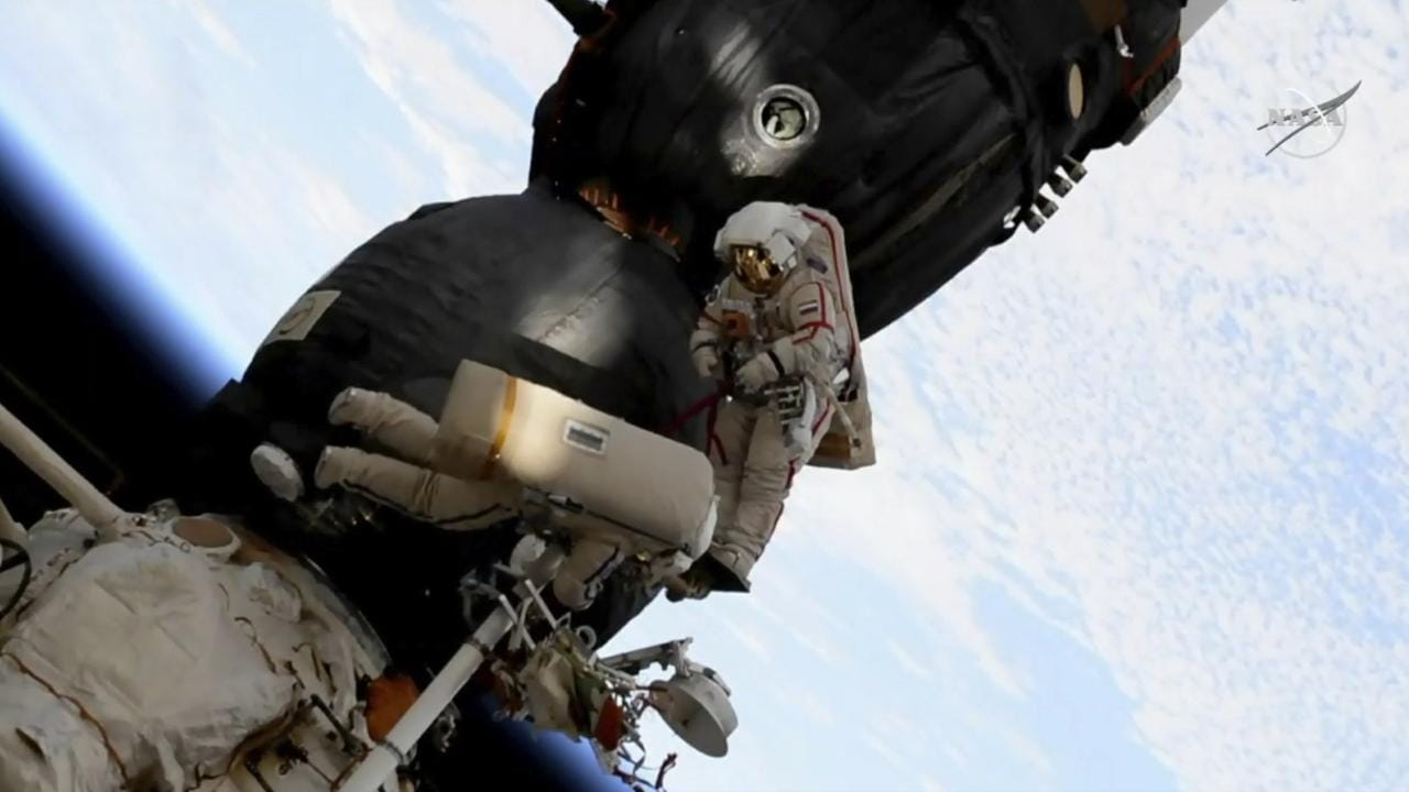 Space station hole drilled from inside, sent to Russian law enforcement to study