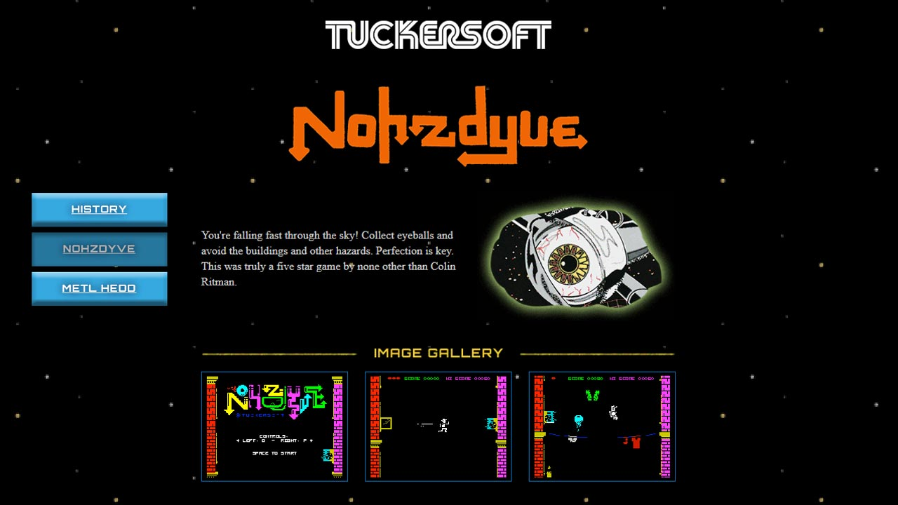 Nohzdyve is the same game that's seen in Bandersnatch, and you can play it right now.