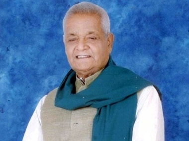 Late captain Nishad represented Muzaffarpur in Lok Sabha four times besides serving as union minister between 1996-98. Image credit: Twitter/@airnewsalerts