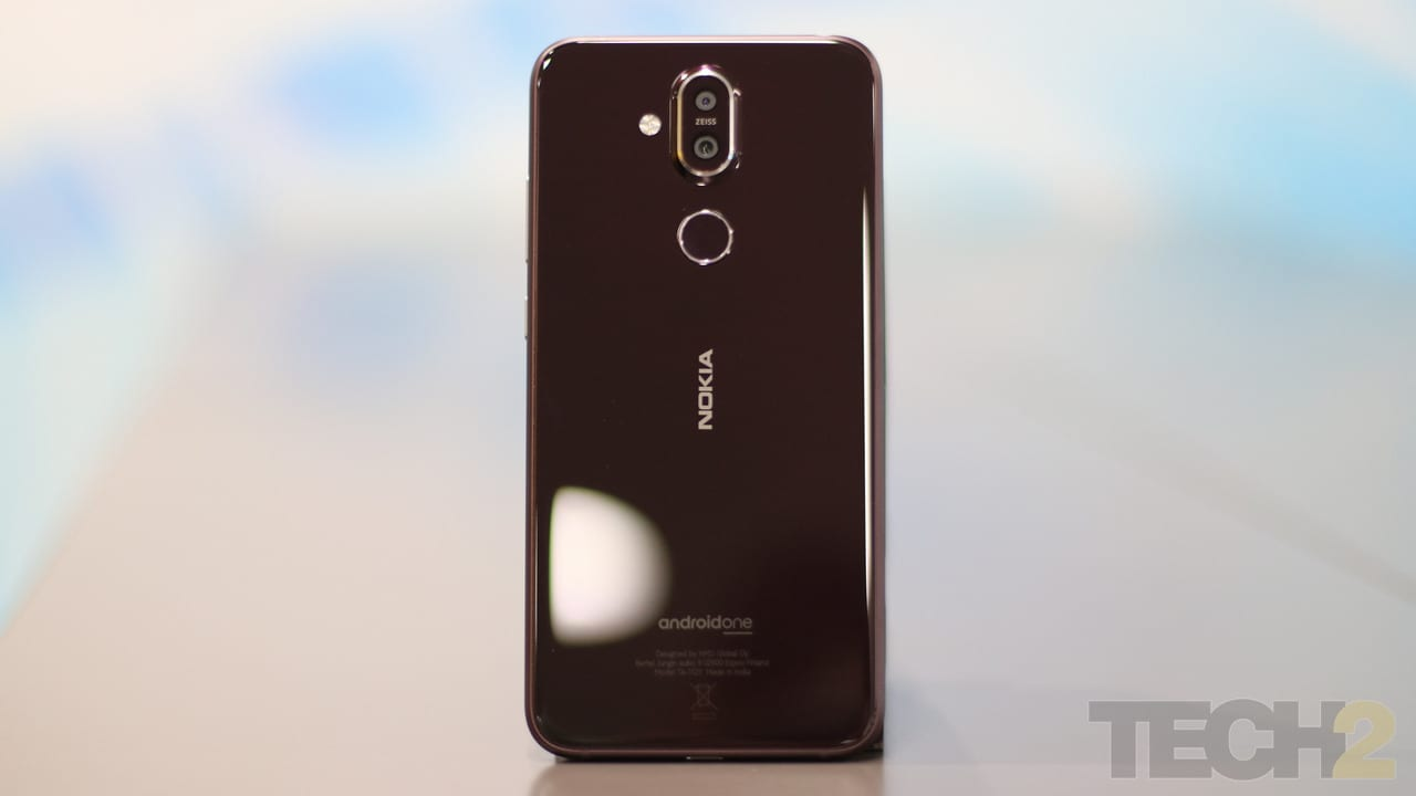 The Nokia 8.1. Image: tech2/Omkar Patne