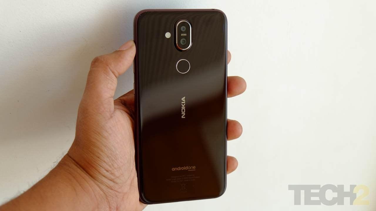 The Nokia 8.1. Image: tech2/Sheldon Pinto
