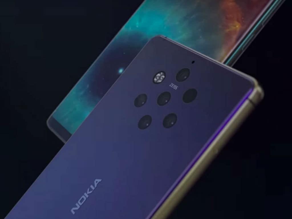 Nokia 9 Pureview. Image: YouTube/Concept Creator