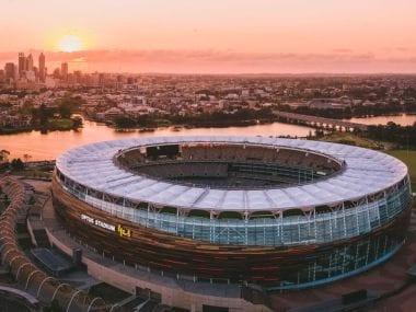 The Australia-India match will be inaugural Test match for Optus Stadium. Twitter @OptusStadium