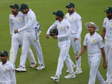 Pakistan bowlers toil on first day of a three-day match against young South African Invitation XI side