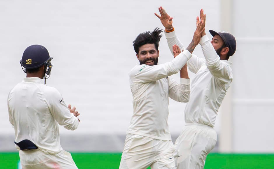 Ravindra Jadeja proved that dropping him at Perth was not the right decision as at MCG, where there was not supposed to be any help for spinners, he grabbed two important wickets and that too at an economy of 1.80. AP