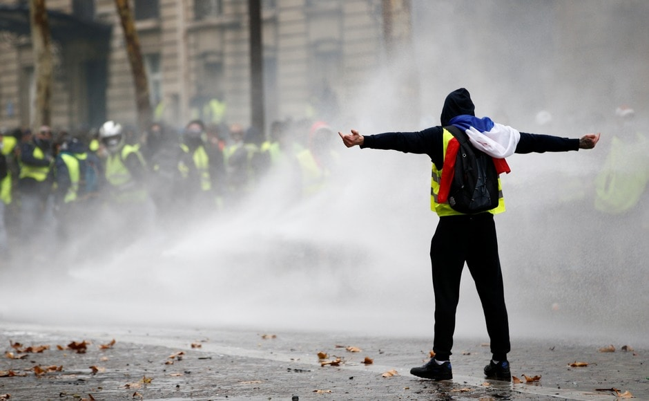 The grassroots protests began with motorists upset over a fuel tax hike, but went on to include a range of demands related to France's high cost of living. Reuters