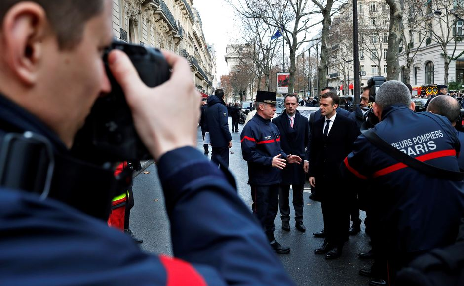 In addition to rising taxes, the demonstrators are furious about President Emmanuel Macron's leadership, alleging that his government is apathetic towards the problems of ordinary people. Reuters