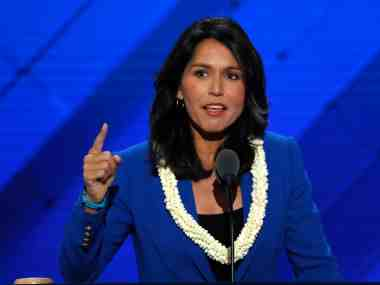 File image of Tulsi Gabbard. Reuters