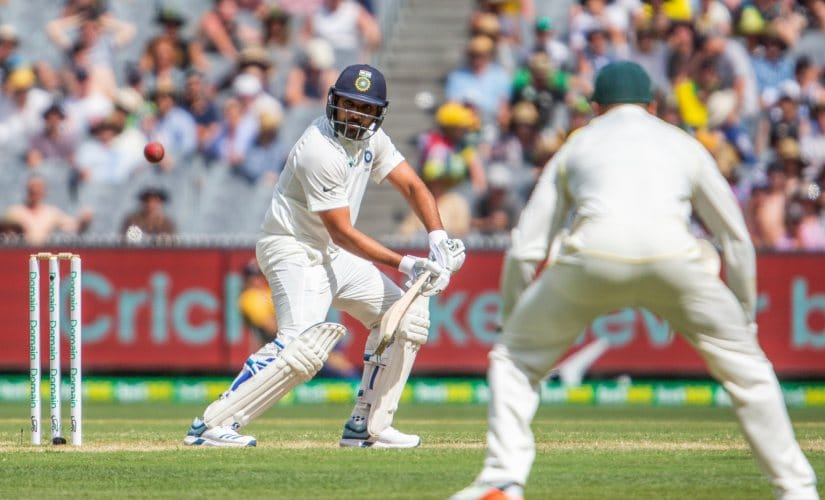 Rohit Sharma scored 63 in the first innings at Melbourne. AP