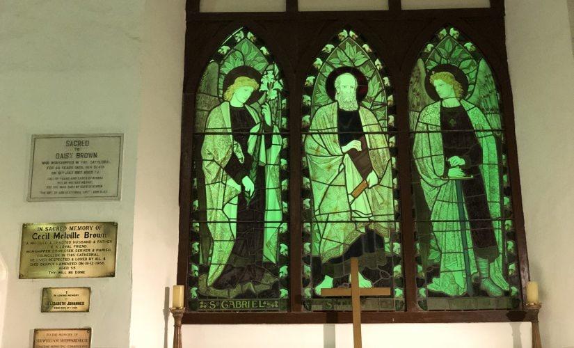 Inside St Thomas Cathedra. Image courtesy of the author
