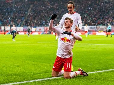 Bundesliga: Timo Werner, Yussuf Poulsen net two each in RB Leipzigs win; Eintracht Frankfurt edge past Bayer Leverkusen
