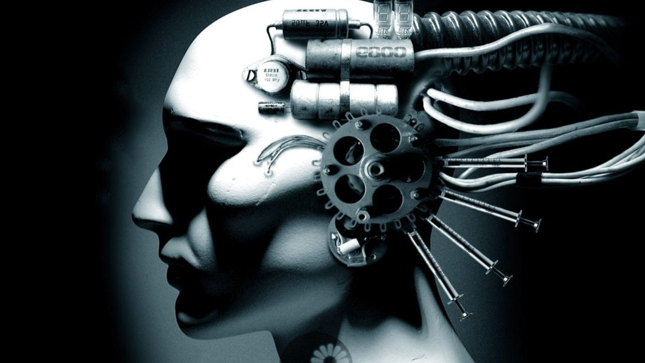 A cyberpunk rendition of transhumanism. Image credit: Darkart