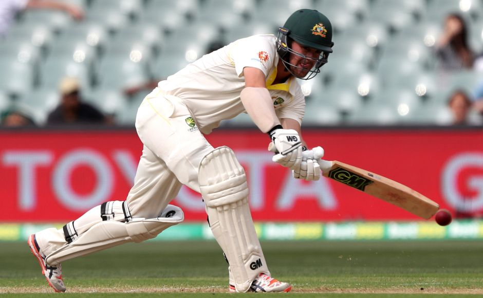 Travis Head was Australia's highest run-getter in the first innings with 72 runs. AP