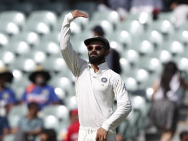 Virat Kohli has faced the ire of both the media as well as some former cricketers due to his on-field behaviour in the Australia Test series so far. AP