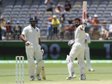 India vs Australia: Despite Virat Kohlis heroic ton, hosts have their noses ahead with 175-run lead on Day 3