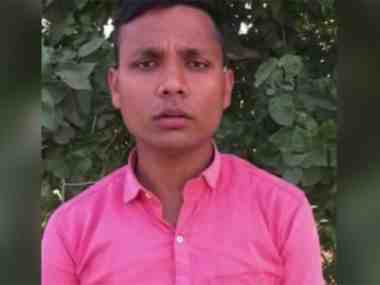 File image of Yogesh Raj, the key accused in the Bulandshahr violence case. News18