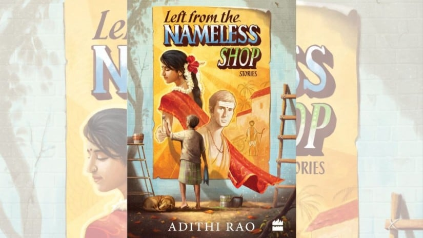The cover of Left from the Nameless Shop