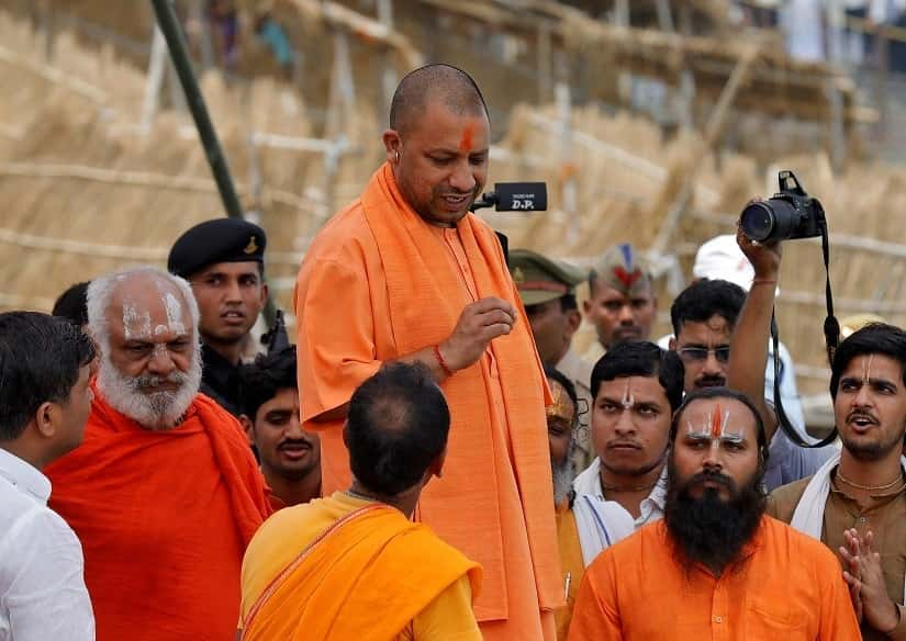 We accept without question that people like Ajay Bisht — better known as Adityanath — are popular because of the bigotry and hatred they espouse. REUTERS