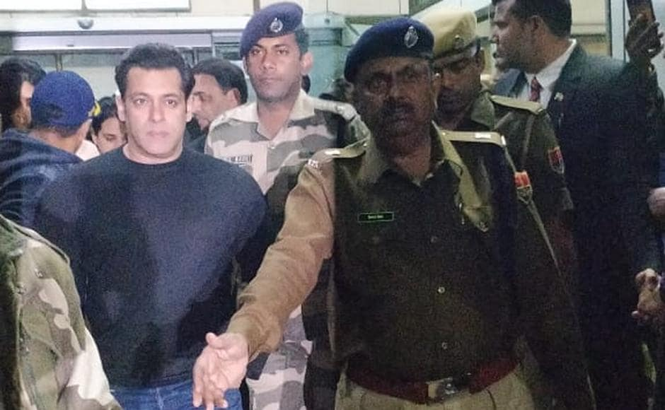 Actor Salman arrives to attend the pre-wedding celebrations. On Friday, Mukesh Ambani along with his family Friday commenced a special 'Anna Seva' to feed 5,100 people, the majority of them with special abilities, over three days.