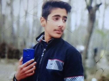 14-year-old Aqib Bashir, who lost his life in the clashes in Pulwama. Image procured by Ishfaaq Naseem