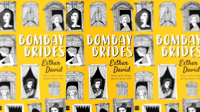 The cover of Bombay Brides, Esther David's latest book