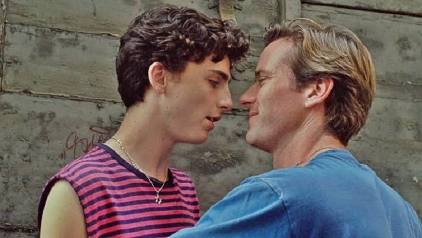 A still from Call Me By Your Name. @LeCinephiles