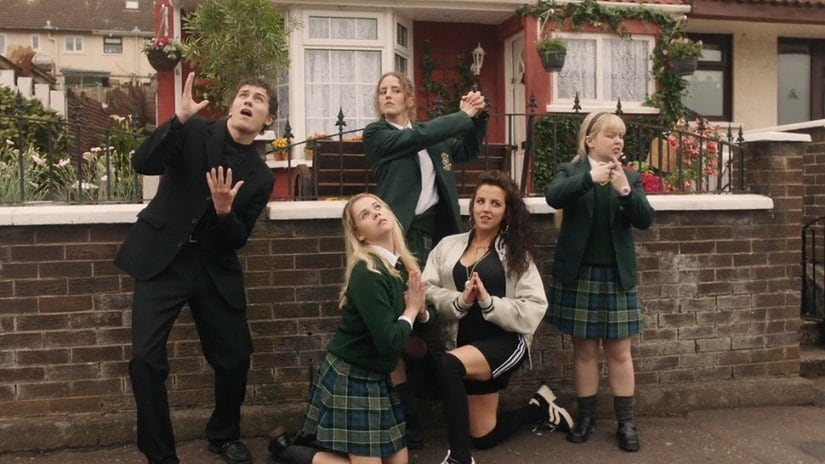 Still from Derry Girls. Netflix