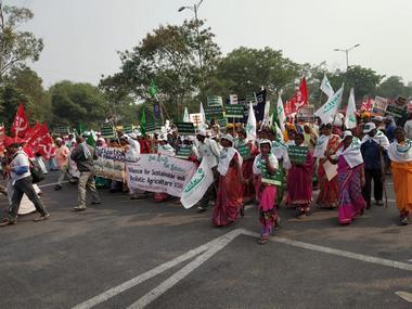 File image of farmer protests in Delhi. Firstpost/Hema Vaishnavi