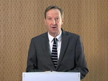 File image of MI6 chief Alex Younger . Reuters