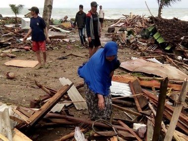 Indonesias volcanic tsunami: Toll rises to 222, 843 people injured, 28 still missing, says disaster agency spokesman