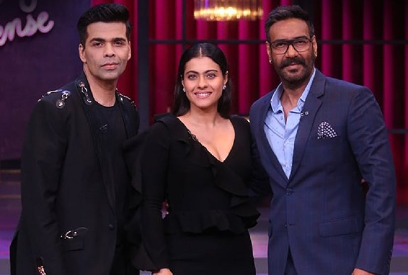 Image result for koffee kajol ajay