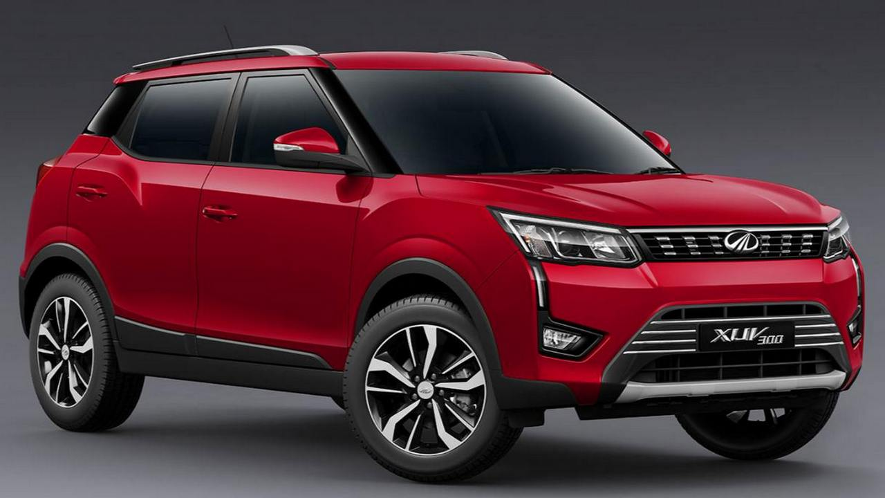 2019 Mahindra XUV300 sub-four metre SUV to launch in India on 15 February