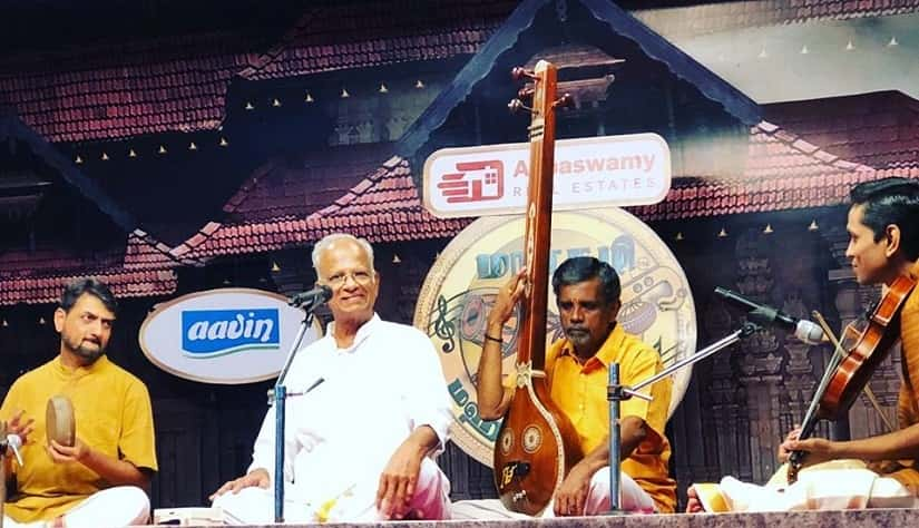 Notes from Margazhi: Two concerts illuminate the wide spectrum of Carnatic music as practiced today