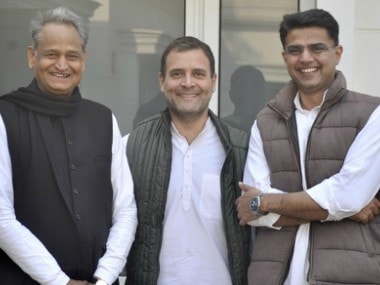 Congress president Rahul Gandhi set to announce new Rajasthan chief minister at 4.30 pm today