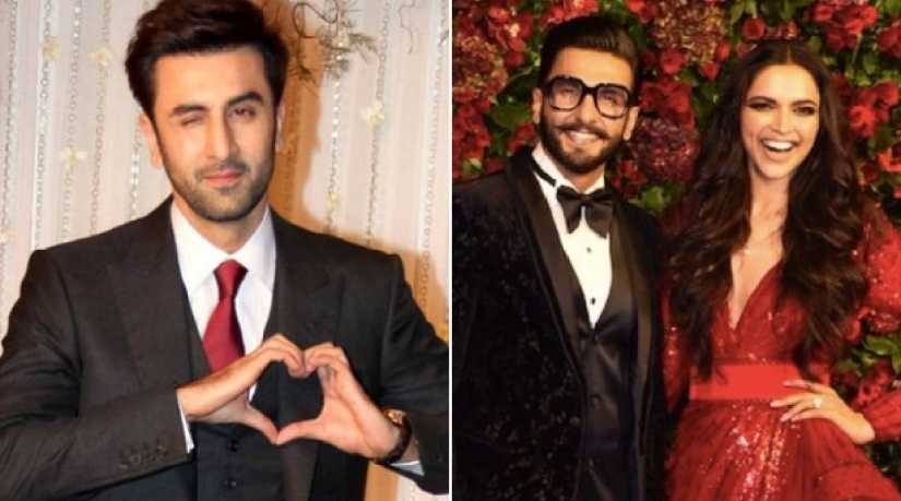 Deepika Padukone reacts to Ranbir Kapoor's absence from her wedding reception!