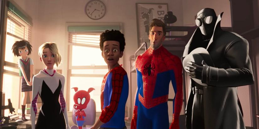 A still from Spider-Man: Into the Spider-Verse