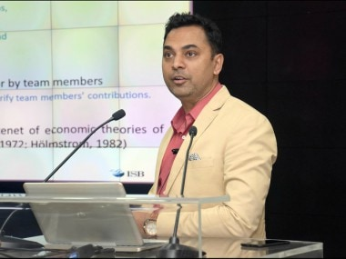 A file photo of Krishnamurthy Subramanian. Image courtesy: Cafral.org