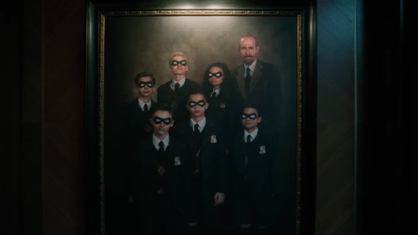 A still from Umbrella Academy. Image from Twitter @deadpresszine
