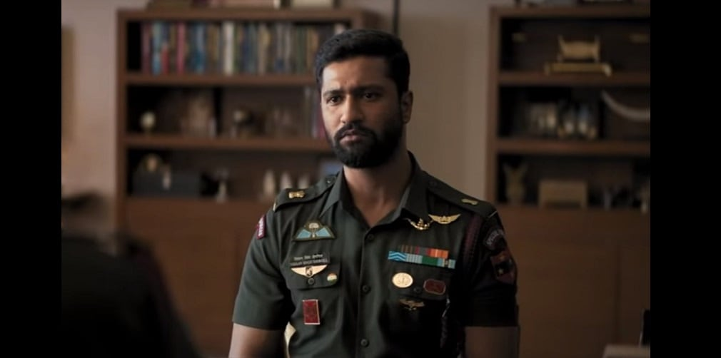 Vicky Kaushal in a still from Uri: The Surgical Strike. YouTube