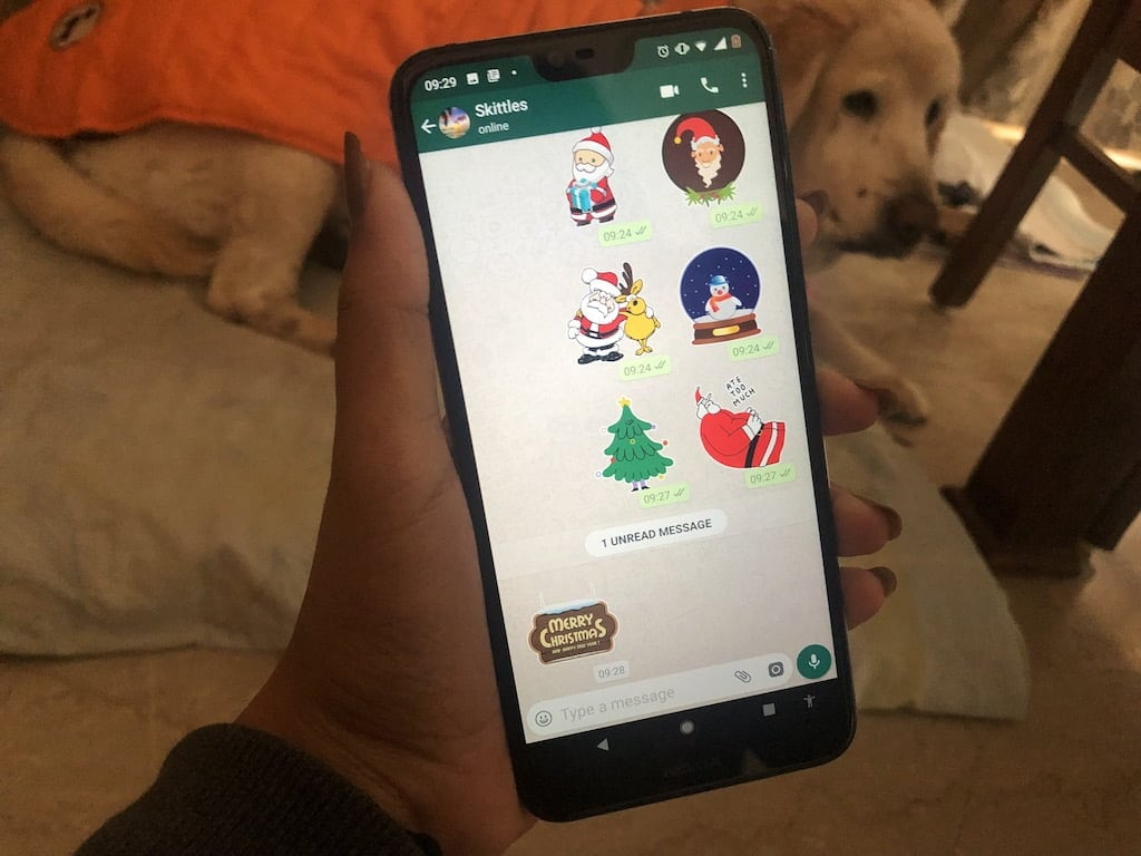 Christmas 2018: Get in the festive spirit with these sticker apps for WhatsApp