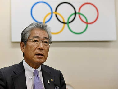 File image of Japanese Olympic Committee president Tsunekazu Takeda. AFP