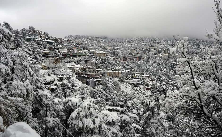 Snow envelops Jammu and Kashmir, Himachal Pradesh, Uttarakhand