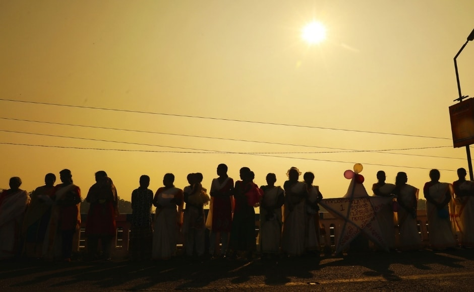 Women's Wall in Kerala: 620-km long human chain a historic step towards gender equality