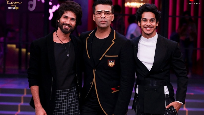 Koffee with Karan: Shahid Kapoor reveals he has no social life post-marriage; Ishaan Khatter calls nepotism a menace