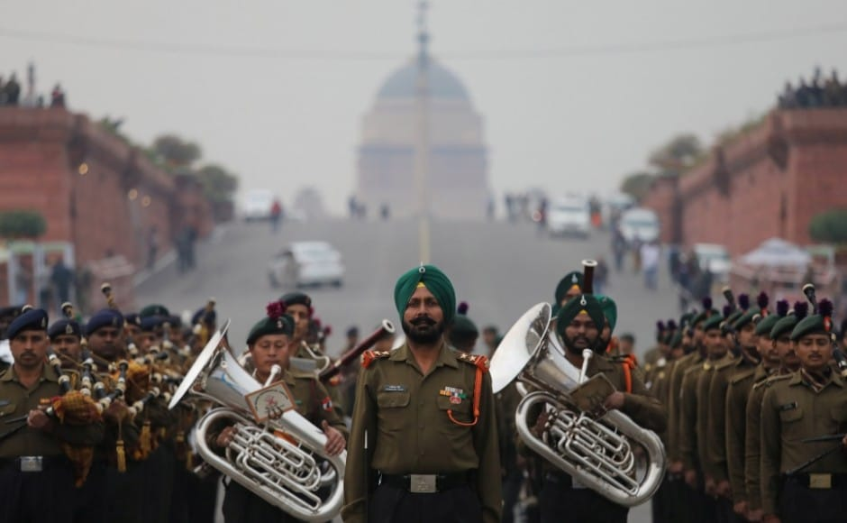 In 2019, the centuries-old military tradition saw five Military bands and 15 pipes and drum bands from regimental centres and battalions participate in the ceremony. Reuters