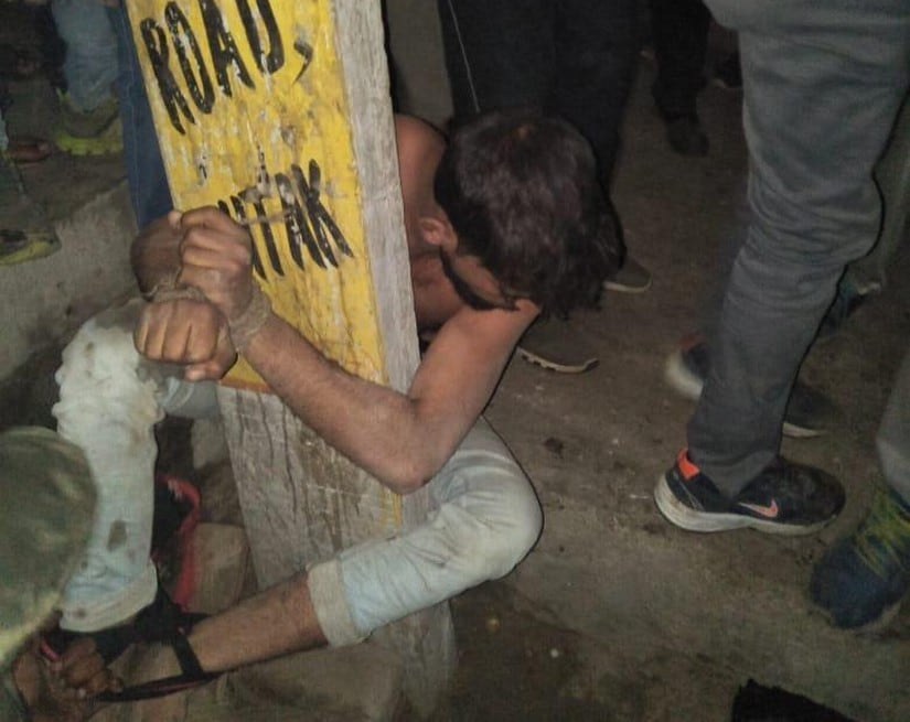 Chained and thrashed: 'Cow vigilantes' beat 24-year-old cattle trader for 2 hours in Rohtak, police chain victim instead of taking him to hospital