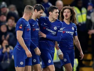 FA Cup: Alvaro Morata bags brace as Chelsea see off Nottingham Forest; Derby County draw against Southampton